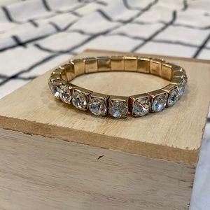 Gold accent bracelet- perfect fit!